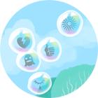 bulles de méditation