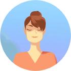 femme meditante